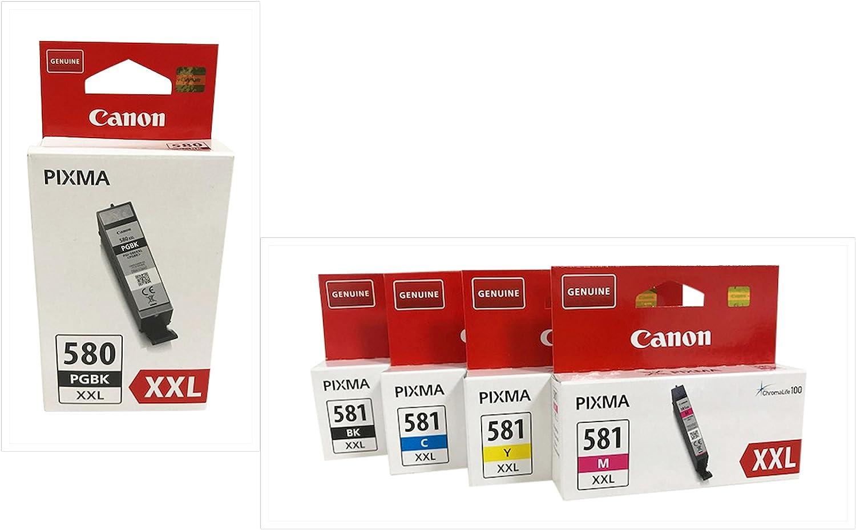 Druckerpatronen Für Canon Pixma Tr7550 Tr8550 Ts6150 Computer Zubehör