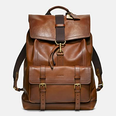 75719b40d284 Amazon | (コーチ) COACH BLEECKER backpack in leather Fawn 革の子鹿で ...