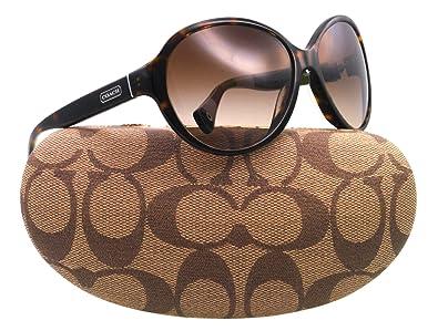 4597f92464a8f Coach Sunglasses HC 8008 5001 13 HAVANA ALICIA  Amazon.co.uk  Shoes ...
