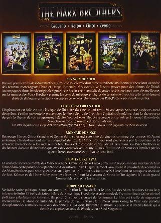 Amazoncom Coffret Marx Brothers Movies Tv