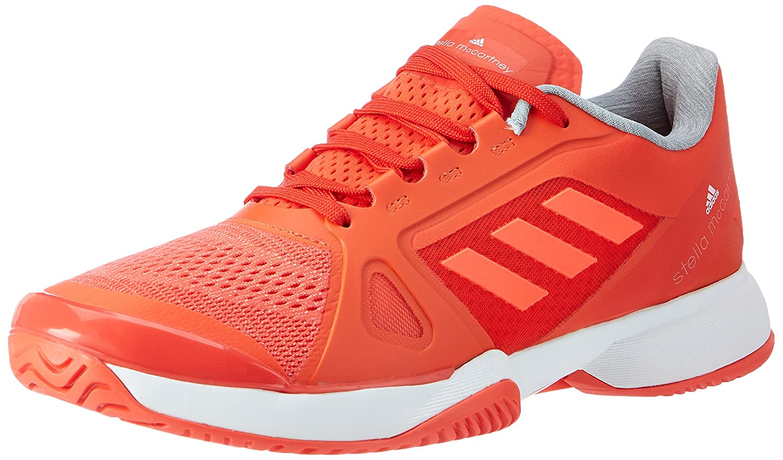 Adidas by Stella Mccartney Barricade 2017, Zapatillas de Tenis para Mujer 43 1/3 EU|Naranja (Blaze Orange/Ftw White/Solar Red)