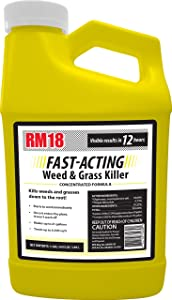 RM18 Fast-Acting Weed & Grass Killer Herbicide, 64-ounce