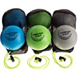 6 Deep Tissue Massage Ball Set for Myofascial Release, Yoga, & Physical Therapy