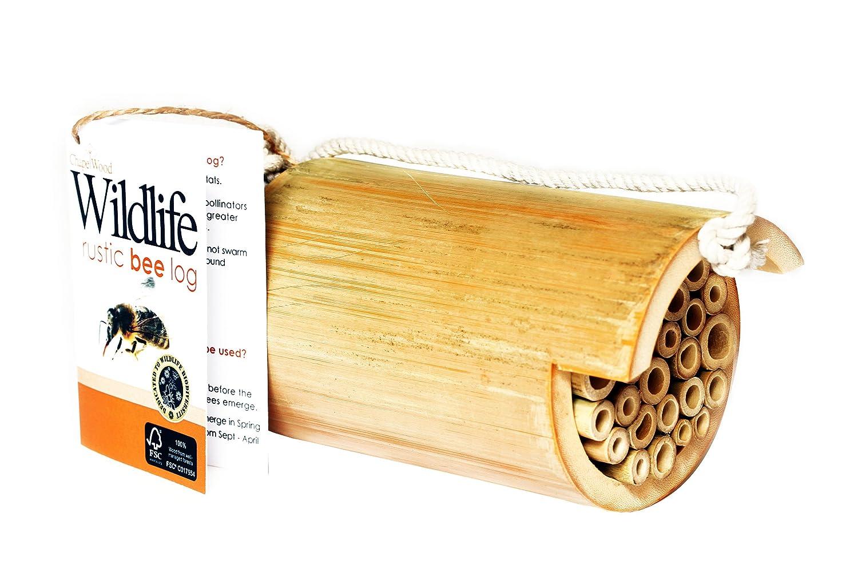 Esschert Design Usa Wa08 Wooden Bumble Bee House Mimbarschool Com Ng