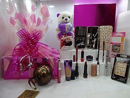 Rimmel London - Caja de regalo de belleza con 8 lotes en caja de regalo +