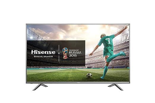 "13 opinioni per Hisense H45N5755 TV LED Ultra HD 45"", Cornice e Base in Metallo, Piattaforma"
