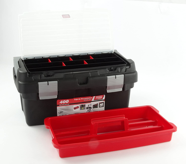 Tayg 400 Caja herramientas, 400 x 225 x 190 mm: Amazon.es ...