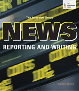Broadcast news and writing stylebook 5th edition robert a papper news reporting and writing fandeluxe Gallery