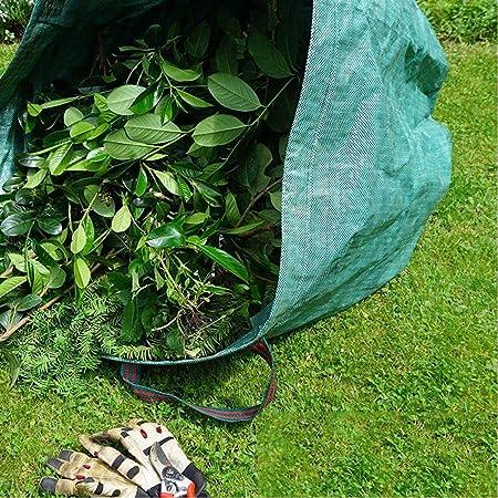 generio 1Pcs Bolsa de jardín Saco Set Bolsas de Hojas Bolsa de Basura de jardín Bolsas de Basura de Paisaje de jardín 120L Jardín: Amazon.es: Hogar