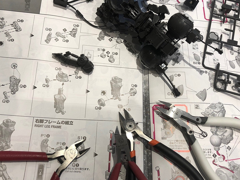 Valtcan Prime Sprue Cutter for Model Kits Thick Plastic Nipper