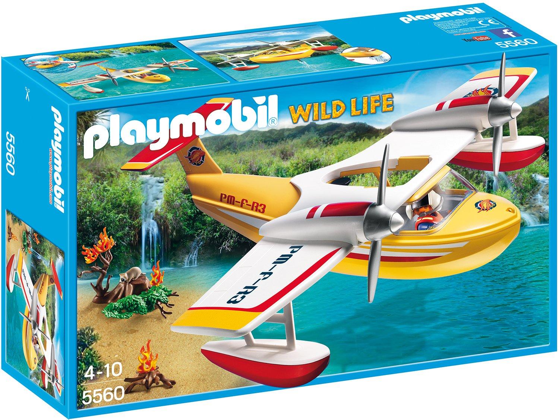 Playmobil Feuerwehr Zubehör - Playmobil Löschflugzeug