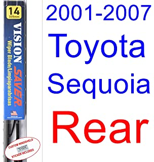 2001-2007 Toyota Sequoia Wiper Blade (Rear) (Saver Automotive Products-Vision