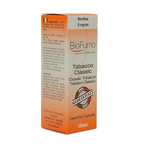 76 opinioni per liquido sigaretta elettronica BioFumo 30ml per tutte le sigarette elettroniche