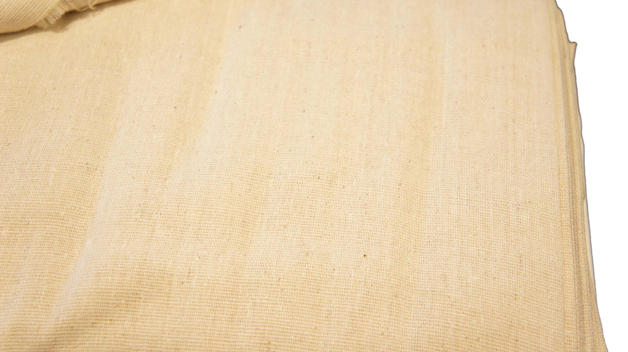 Unbleached Osnaburg 45'' 100% Cotton 25yd Bolt-Natural by Roc-lon (Image #3)