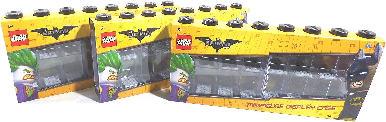 LEGO Minifigure Display Case (Large 3-Pack Batman)