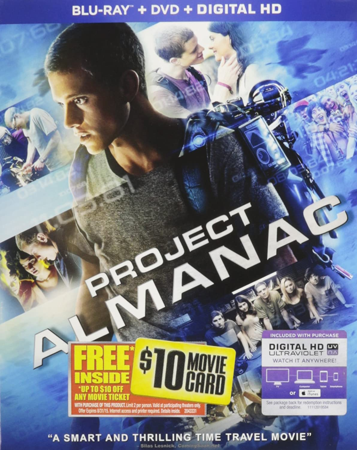 Amazon com: Project Almanac [Blu-ray]: Sam Lerner, Jonny Weston