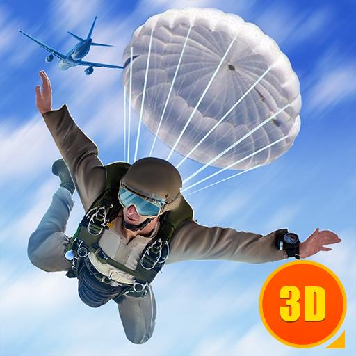 Airborne Crossfire Commando - Shootout Surviving