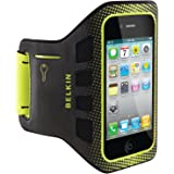 Belkin Ease-Fit Sport Armband for iPhone 4 and iPhone 4S (Black / Limelight)