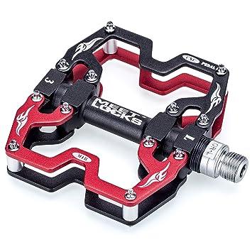 """Fahrradpedale Fahrrad BMX 1 Paar Pedale Alu Aluminium 9//16/"""" Gewinde Rutschfest"""