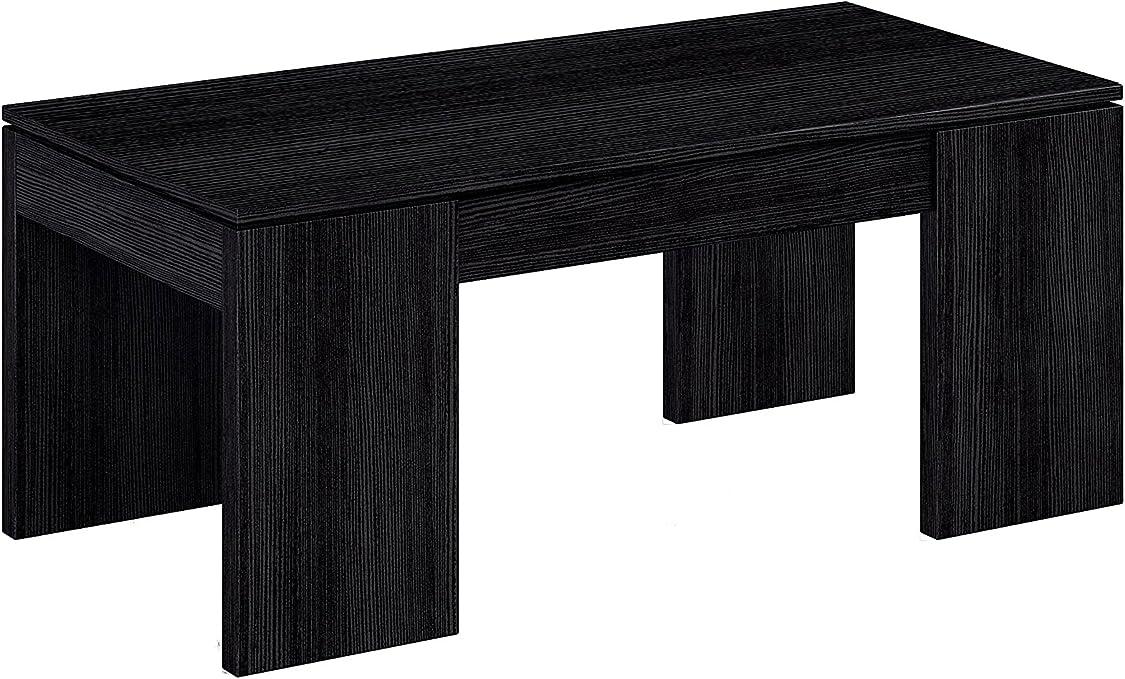 Habitdesign (001637MT - Mesa de elevable, Color Negro Malla ...