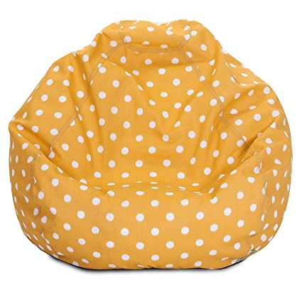 Charmant Majestic Home Goods Classic Bean Bag Chair   Ikat Dots Giant Classic Bean  Bags For Small
