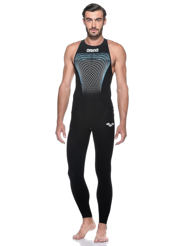 Arena Herren Schwimmanzug Men Powerskin R-Evo Full Body Long Leg schwarz