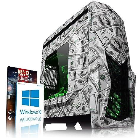 VIBOX Dollah GR350-7 Gaming PC Ordenador de sobremesa con Cupón de Juego, Windows