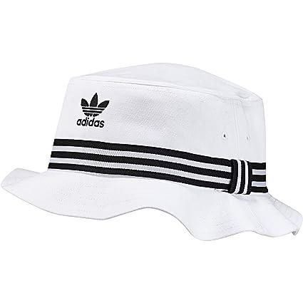 adidas Bucket AC Sombrero, otoño/Invierno, Unisex Adulto, Color Negro/Blanco
