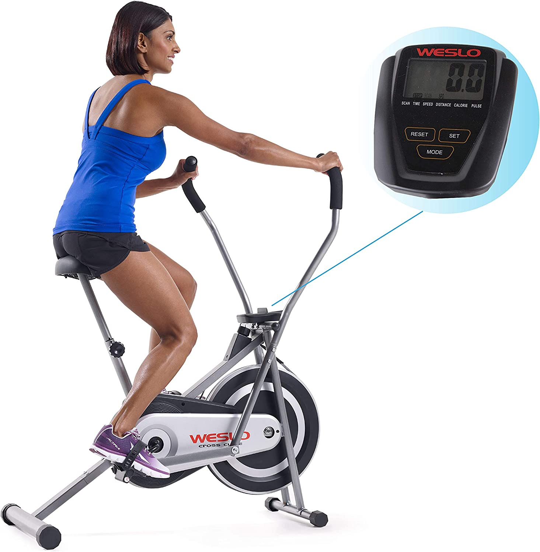 Weslo Cross Cycle Recumbent Exercise Bike and Elliptical Hybrid