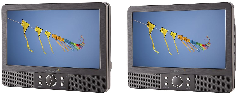 Sunstech DLPM959BK - Reproductor DVD portátil (doble pantalla, 9 ...