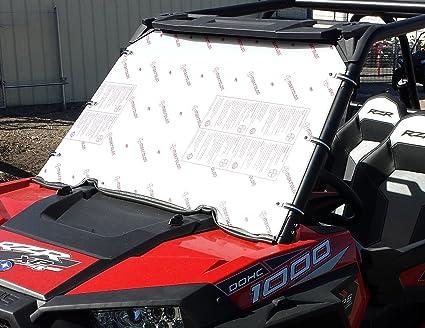 Polaris Rzr 1000 Windshield >> Amazon Com Polaris Rzr 1000 Full Windshield Automotive