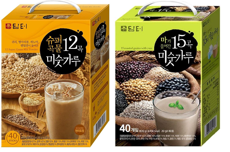 Damtuh - Polvo de 12 granos tostados coreanos con avena ...
