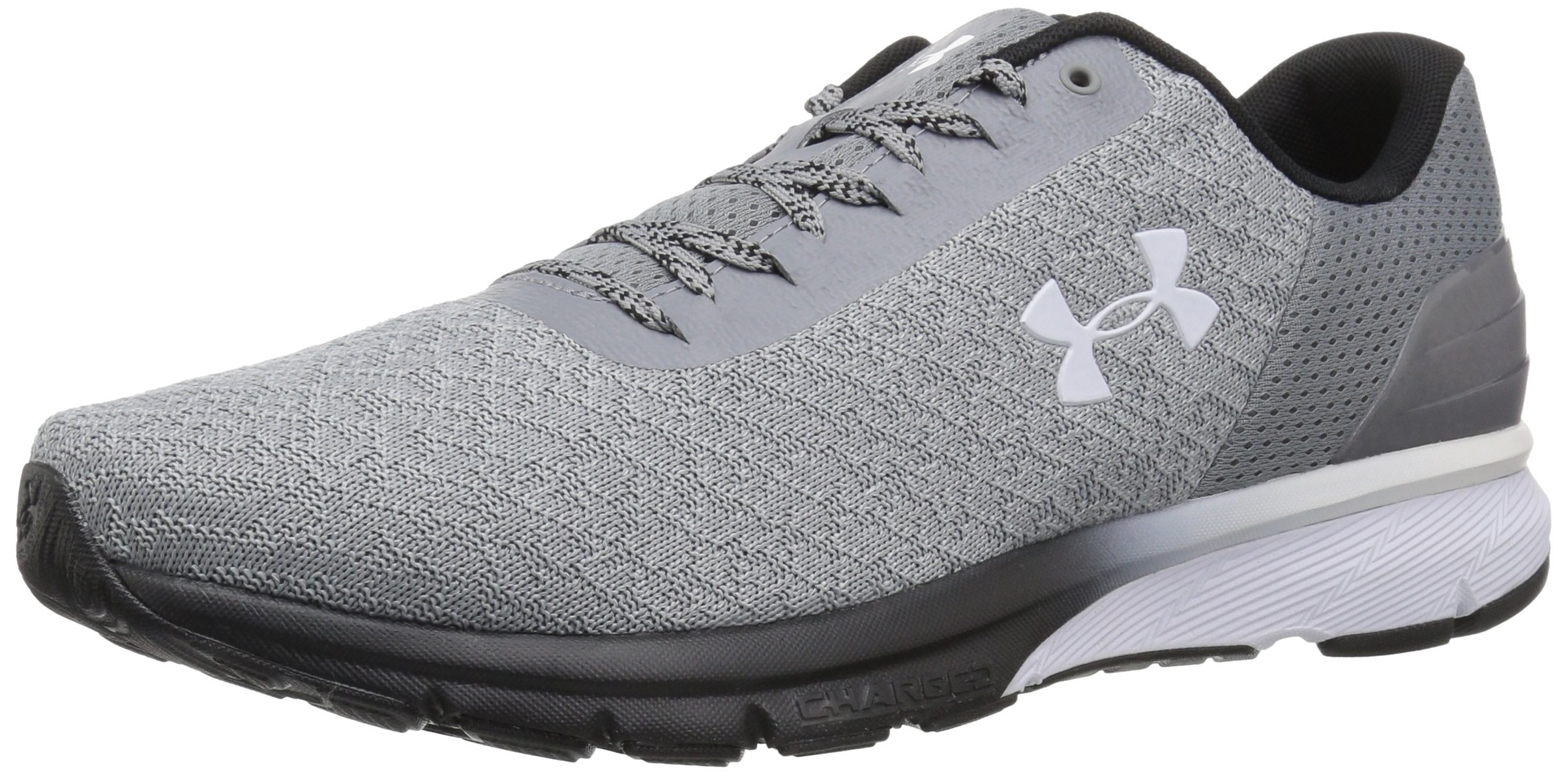 newest collection ba71d 5b3b4 Under Armour Men's Charged Escape 2 Running Shoe, Steel (103)/Overcast  Gray, 8.5