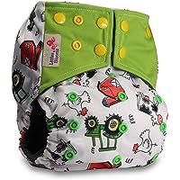LittleBloom Bebé Pañales Lavables Pañal Reutilizable Insertos BAMBÚ