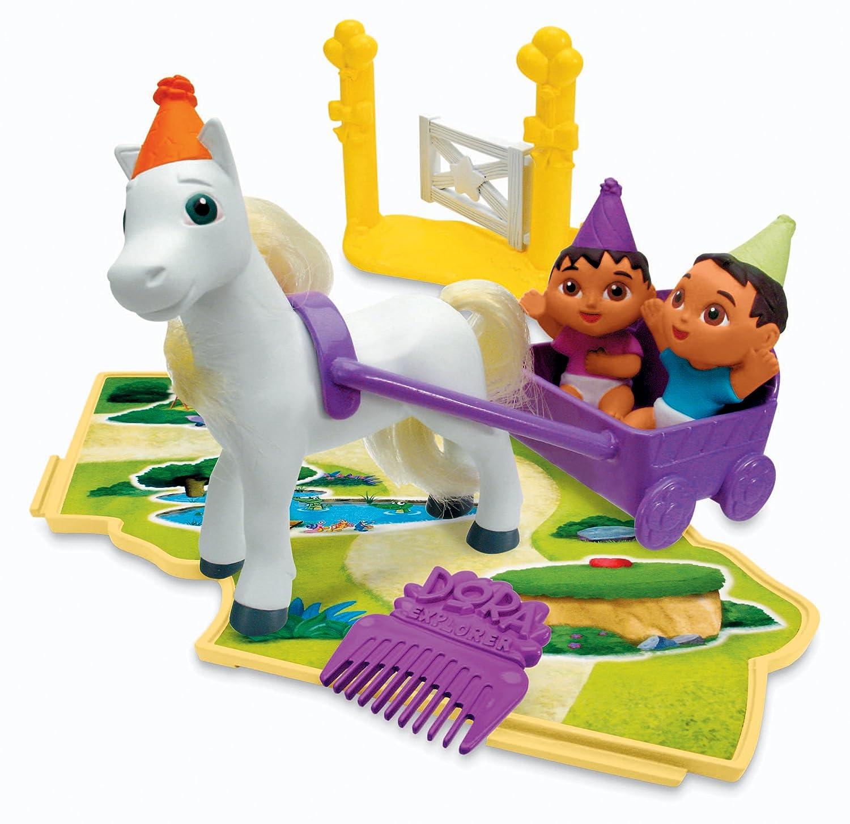 Fisher-Price Doras Pony Adventures Playset Twins /& Ponies K3657