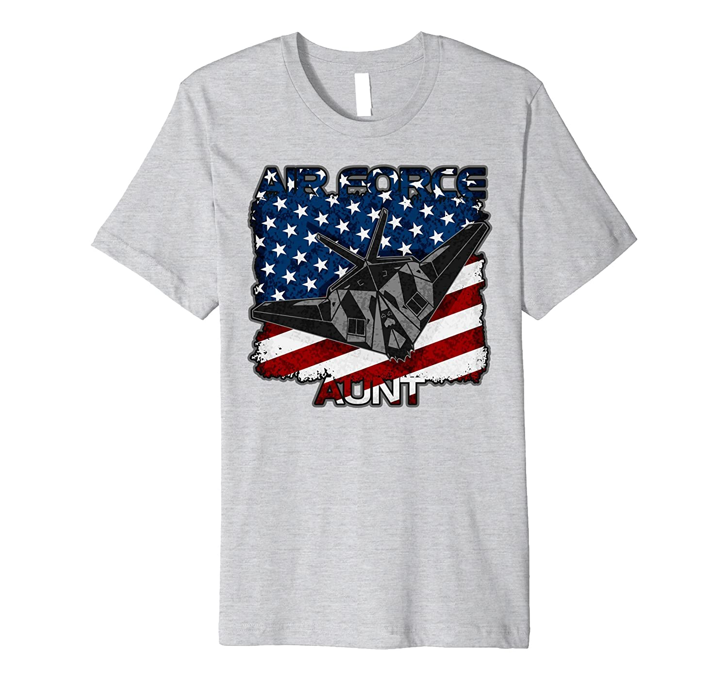 Air Force Aunt Stealth Fighter T-shirt