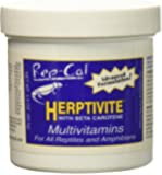 HERPTIVITE Multivitamin for reptiles and amphibians (3.3 oz) Blue Bottle