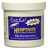 HERPTIVITE Multivitamin for reptiles and amphibians (3.3 oz) Blue Bottle, 1 Pack