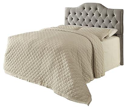 Coaster Fine Furniture 300534QF Cabecera para Cama, Tapizada en ...