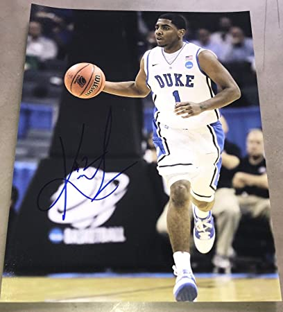 4734ba1eacb0 Signed Kyrie Irving Picture - NBA CAVS STAR FULL 11x14 COA C - Autographed  College Photos at Amazon s Sports Collectibles Store