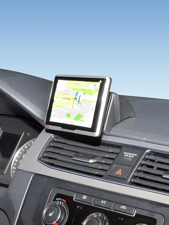 KUDA Navigationskonsole (LHD) fü r VW Caddy mit Deckel ab 2015 (Kunstleder schwarz) Kuda Phonebase 5975