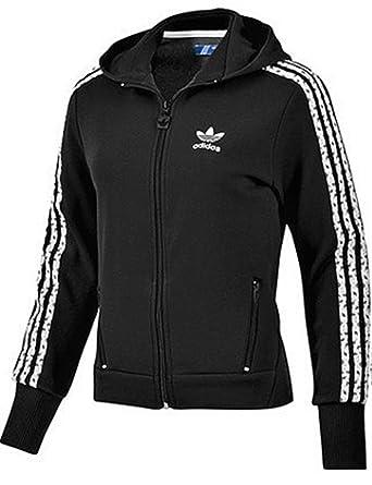 veste adidas d s hood flock noir
