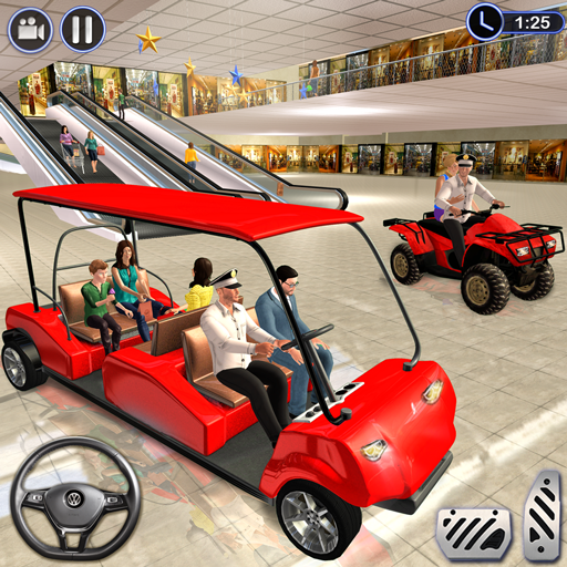 Shopping Mall ATV Quad Bike Radio Taxi Games (Bike Level)