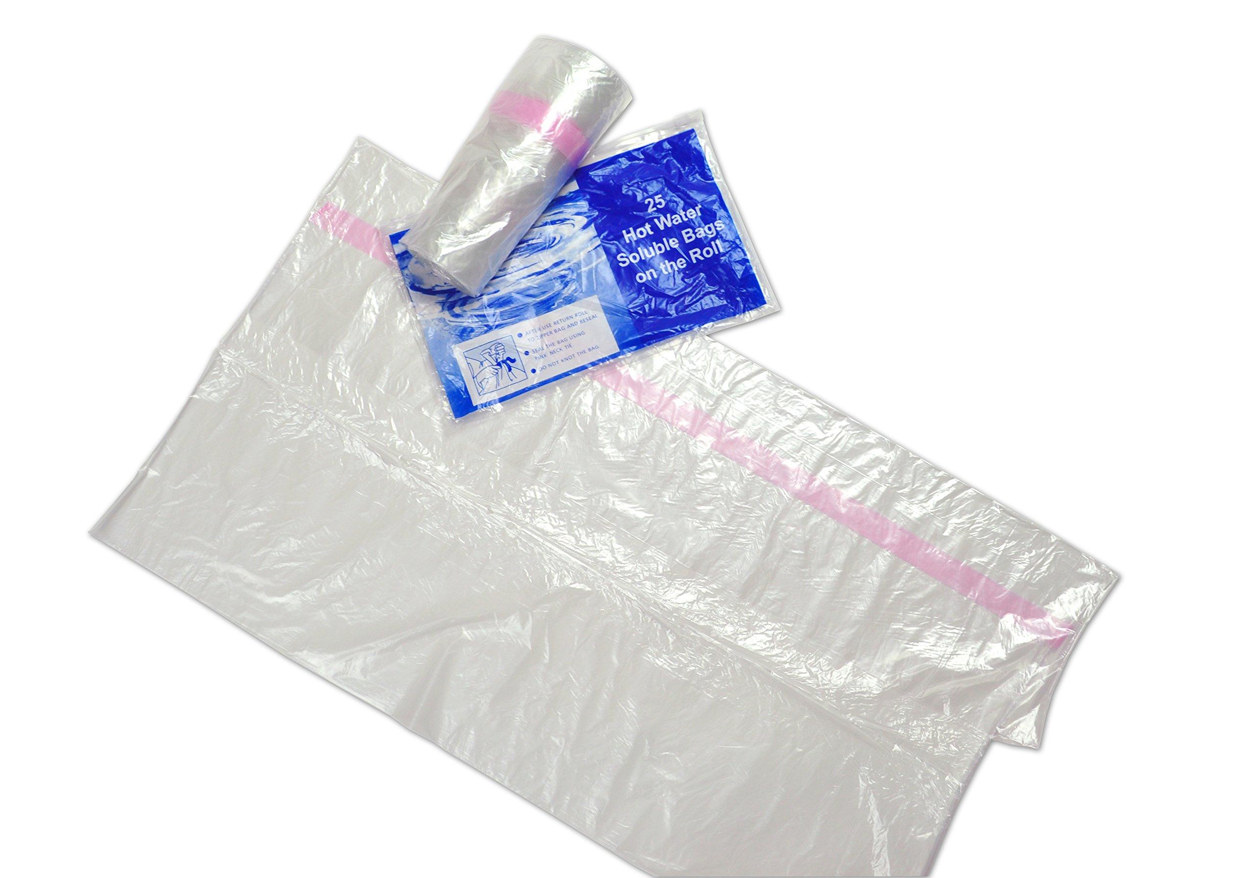 Elkay Plastics WSB3639 0.8 mil 36'' x 39 Water Soluble Bag, 36'' x 39'', Green (Case of 100)