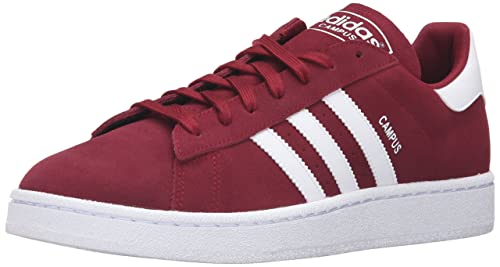 promo code de7d6 33b97 Adidas Originals Campus moda della scarpa da tennis, foschia Ardesia nero    bianco, 11