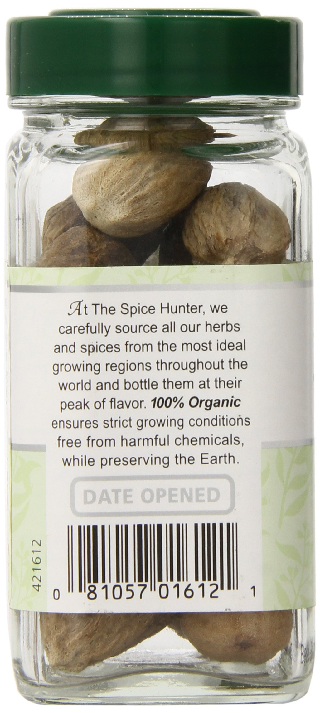 The Spice Hunter Organic Nutmeg, Whole, 1.8 oz. jar by Spice Hunter (Image #3)
