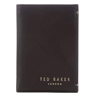 Ted Baker - Cartera para hombre de piel Hombre Marrón 1 Talla única: Amazon.es: Ropa y accesorios
