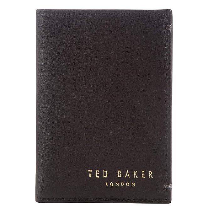 uomo pelle taglia Portafoglio Baker 1 unica per Ted in marrone NOmwv8n0