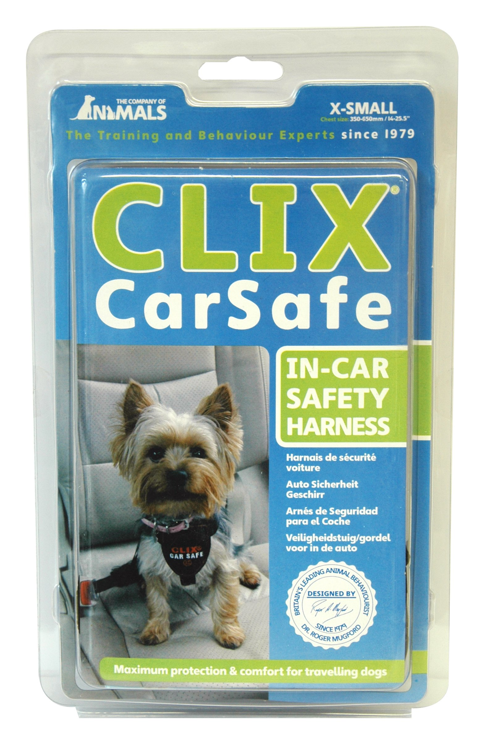 The Company of Animals - CLIX CARSAFE Dog Harness - Multi-Purpose Car Seat Belt and Walking Harness - Easy, Adjustable, Secure and Safe - X-Small by The Company of Animals (Image #7)