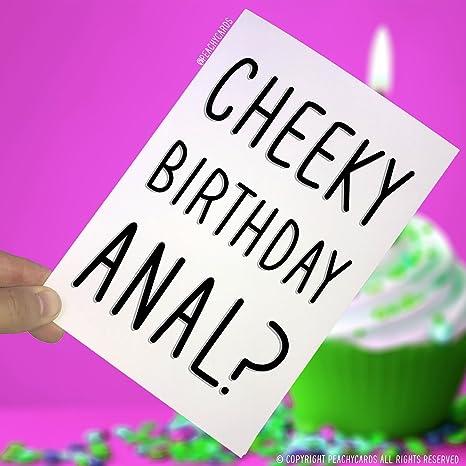 Amazon.com: Tarjetas de cumpleaños, anal de cumpleaños ...